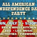All+American+Independence+Day+Party
